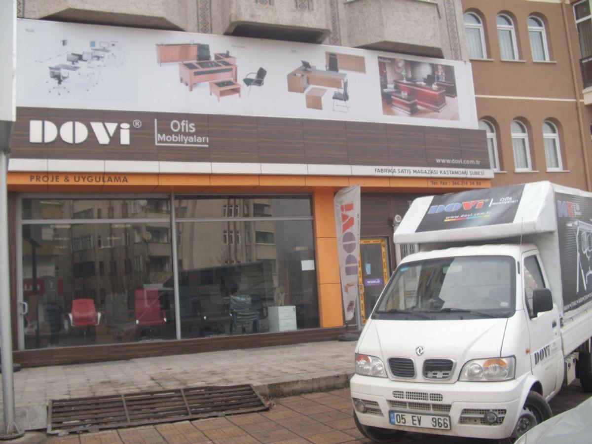 Dovi Ofis Mobilyaları Kastamonu Şubesi Açıldı.