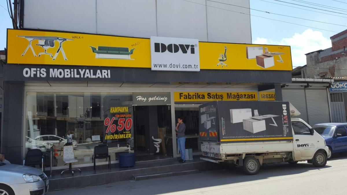 Dovi Ofis Mobilyaları Samsun Şubesi Açıldı.